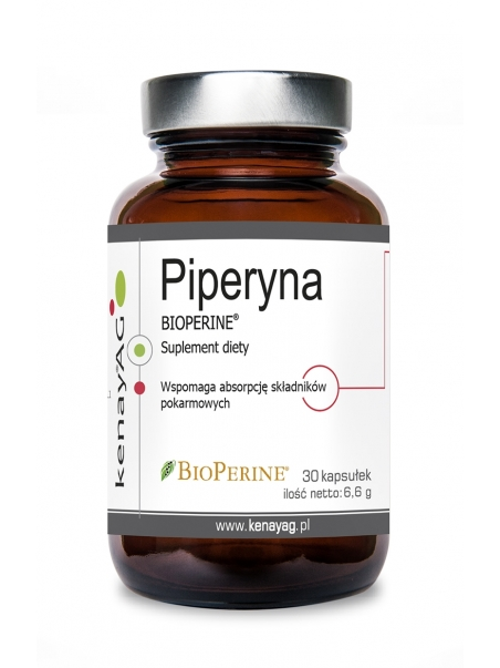 Piperyna (BIOPERINE®) (30 kapsułek) - suplement diety