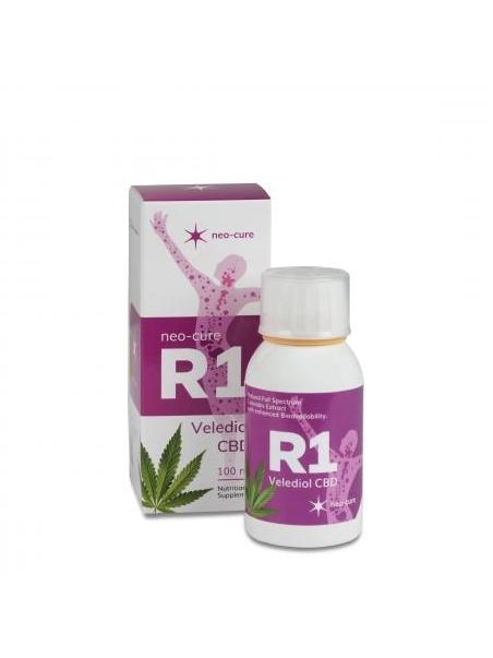 Liposomalny ekstrakt z konopi siewnych R1 Velediol CBD (100 ml) - suplement diety