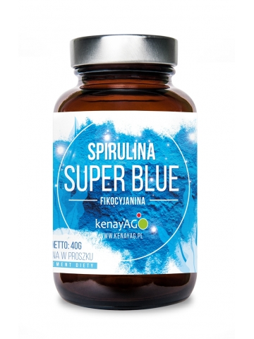Spirulina Super Blue (40 g) - suplement diety