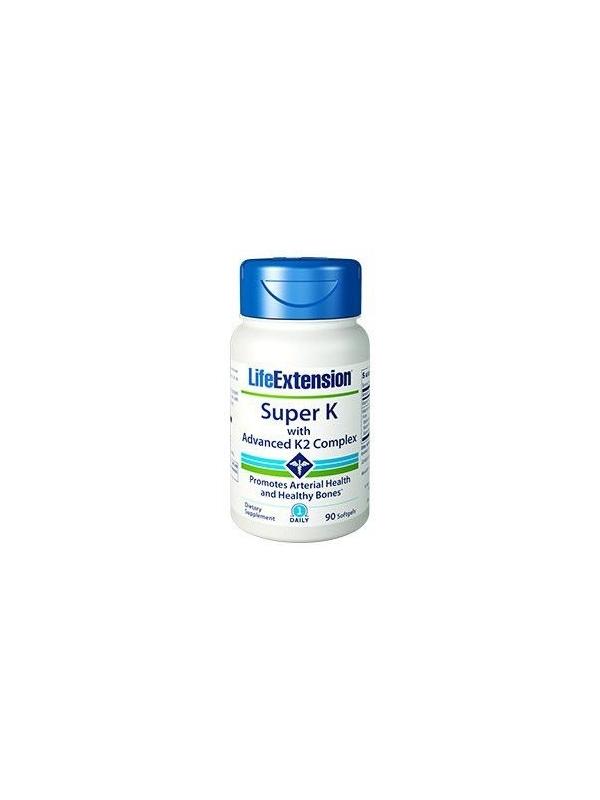 Super K LifeExtension (90 kapsułek) - suplement diety