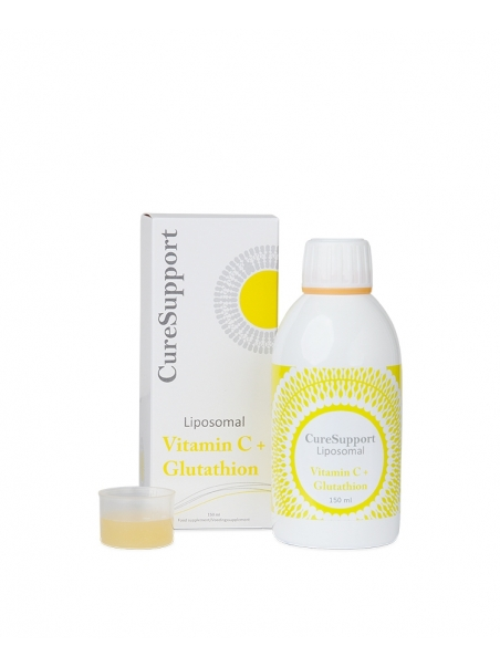 Witamina C z glutationem liposomalna (250 ml) – suplement diety