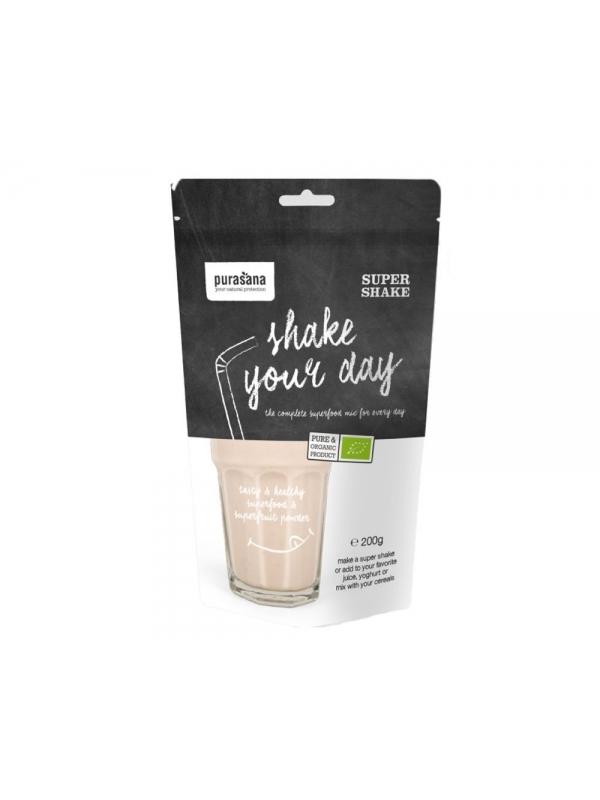 Shake your day - Super SHAKE BIO (Purasana) - proszek 200 g