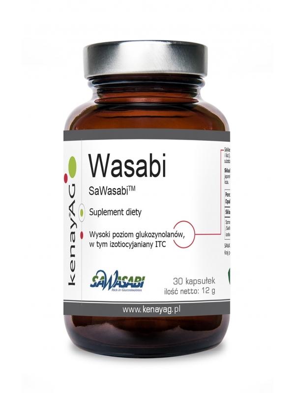 Wasabi  SawaTM Wasabi (proszek 40 g) - suplement diety