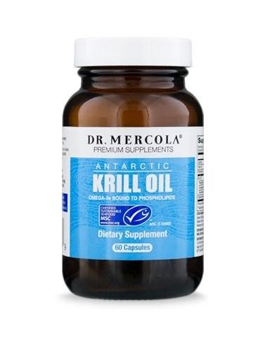 Olej z Kryla (Dr Mercola) (60 kapsułek) - suplement diety