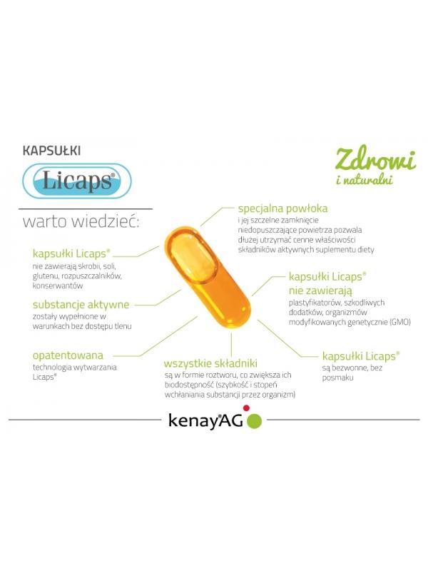 Kurkuma micelizowana (60 kapsułek Licaps®) - suplement diety