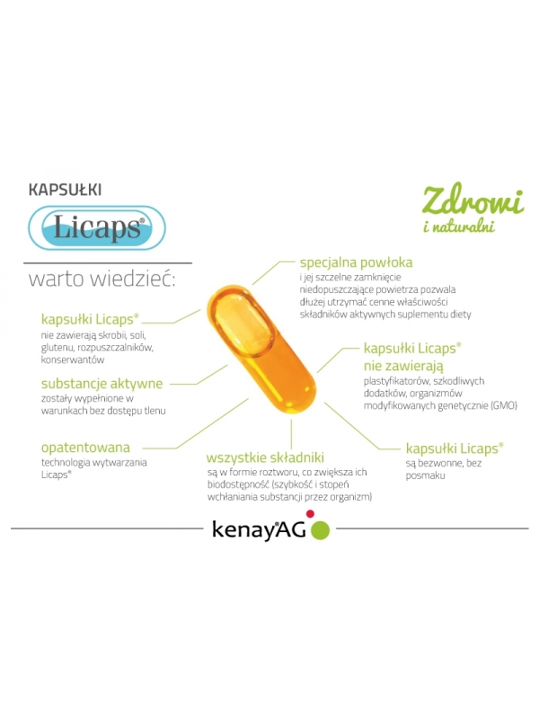Kurkuma micelizowana (240 kapsułek Licaps®) - suplement diety
