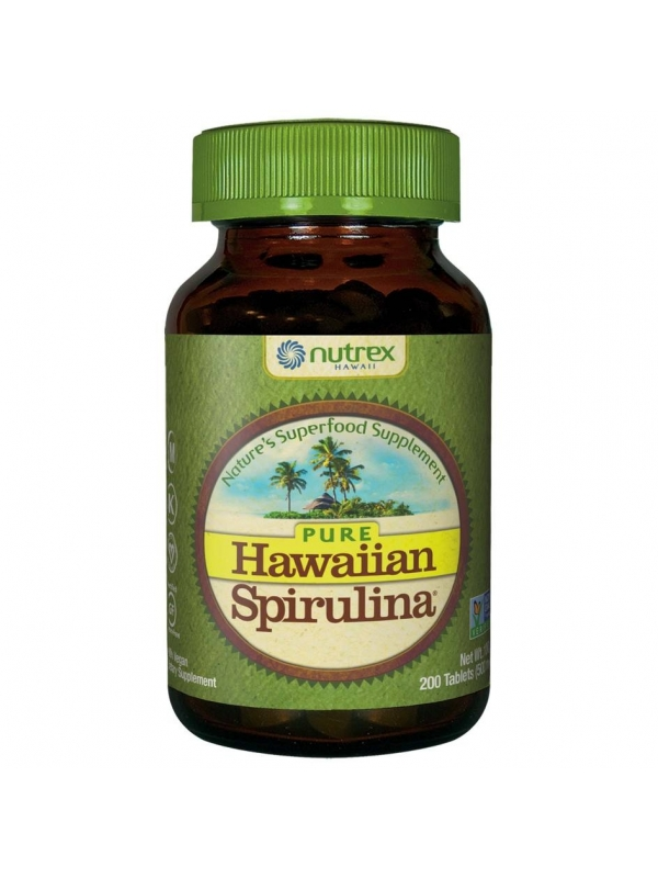 Hawaiian Spirulina® SPIRULINA HAWAJSKA PACIFICA 500 mg (200 tabletek) - suplement diety