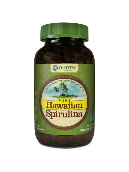 Hawaiian Spirulina® SPIRULINA HAWAJSKA PACIFICA 500 mg (400 tabletek) - suplement diety