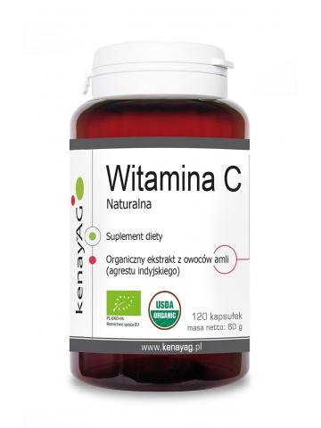ORGEN C®  Naturalna organiczna witamina C (120 kapsułek) - suplement diety
