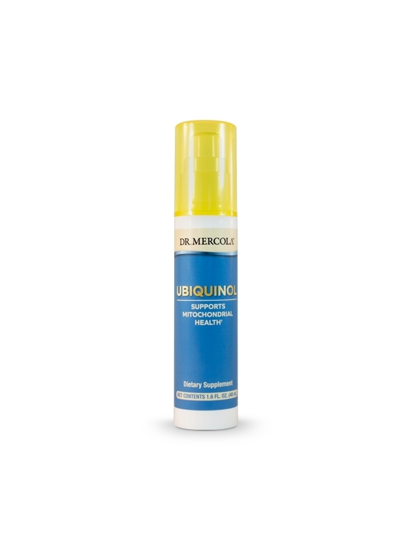 Ubichinol aktywna forma Koenzymu Q10 w sprayu! (dr Mercola)  (48 ml) - suplement diety