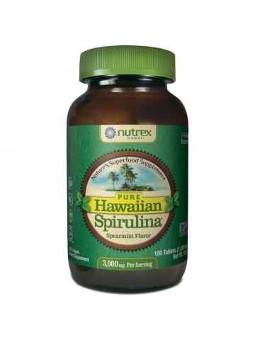 Spirulina  Pacifica® hawajska miętowa 1000 mg (180 tabletek) - suplement diety