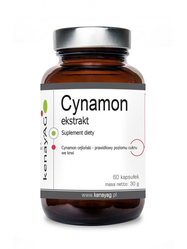 Cynamon ekstrakt (60 kapsułek) - suplement diety