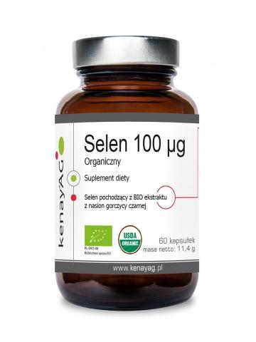 Selen 100 mcg Organiczny (60 kapsułek BIO) - suplement diety