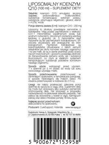 Koenzym Q10 Liposomalny (100 ml) – suplement diety