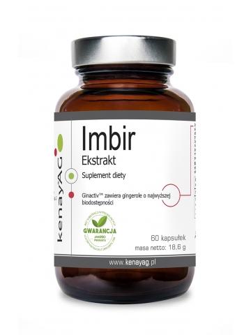 Imbir ekstrakt (60 kapsułek) - suplement diety