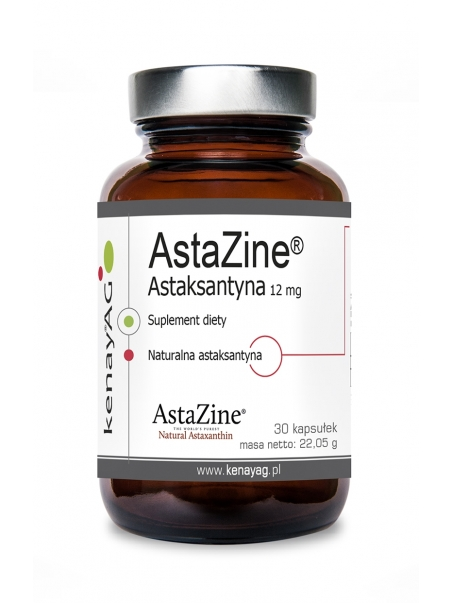 AstaZine™  Astaksantyna 12 mg (30 kapsułek) - suplement diety