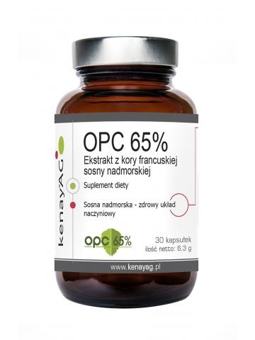 Ekstrakt z kory francuskiej sosny morskiej  OPC (30 kapsułek) - suplement diety