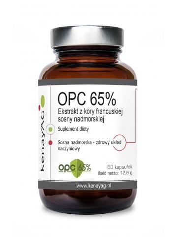 Ekstrakt z kory francuskiej sosny morskiej  OPC (60 kapsułek) - suplement diety