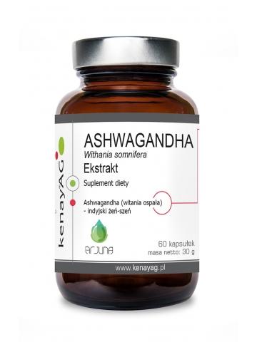 ASHWAGANDHA  - ekstrakt (60 kapsułek) - suplement diety