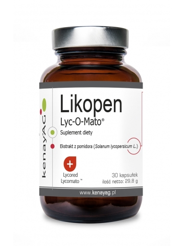 Likopen Lyc-O-Mato 20 mg (30 kapsułek) - suplement diety