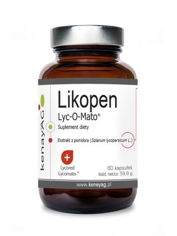 Likopen Lyc-O-Mato 20 mg (60 kapsułek) - suplement diety