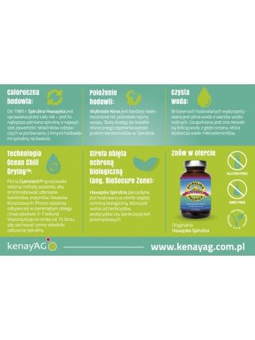 Spirulina Pacifica® hawajska w proszku (270 g) - suplementy diety