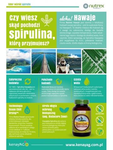 Spirulina Pacifica® (180 tablets) – dietary supplement
