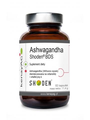 Ashwagandha Shoden® BDS (60 kapsułek) - suplement diety
