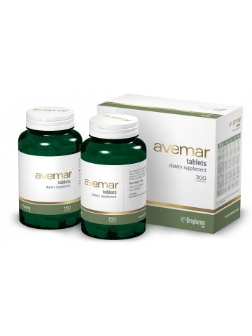 Avemar - ekstrakt ze sfermentowanych kiełków pszenicy - (300 tabletek) - suplement diety