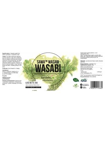 Wasabi  Sawa™ Wasabi (proszek 40 g) - suplement diety