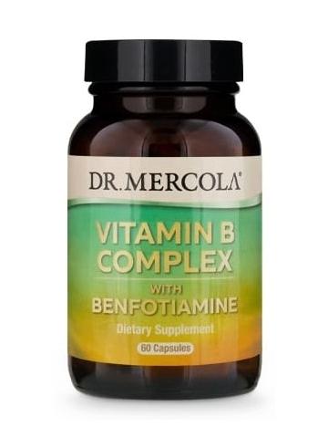 Witamina B kompleks  (dr Mercola) (30 kapsułek) - suplement diety