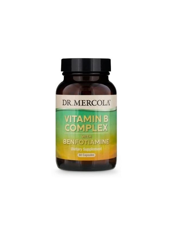 Witamina B kompleks  (dr Mercola) (60 kapsułek) - suplement diety