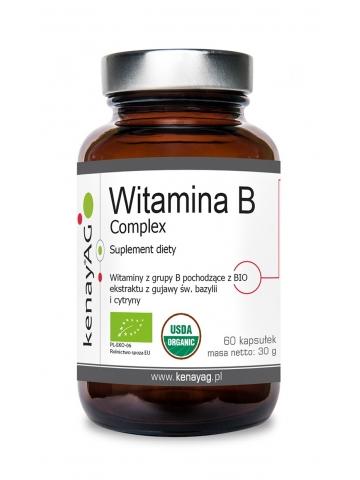 Witamina B complex BIO (60 kapsułek) - suplement diety