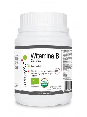 ORGEN B's®  Kompleks witamin z grupy B (240 kapsułek) - suplement diety
