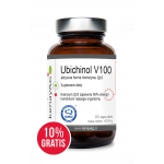 Ubichinol V100  aktywna forma Koenzymu Q10 (60 kapsułek) - suplement diety