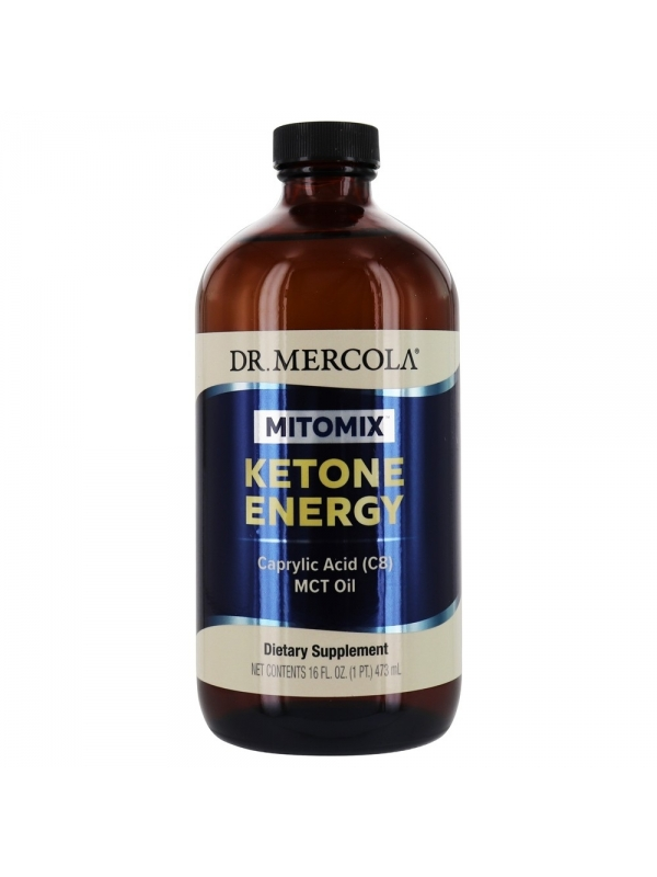 Kwas kaprylowy - Ketone Energy MCT (dr Mercola) Oil (473 ml) - suplement diety
