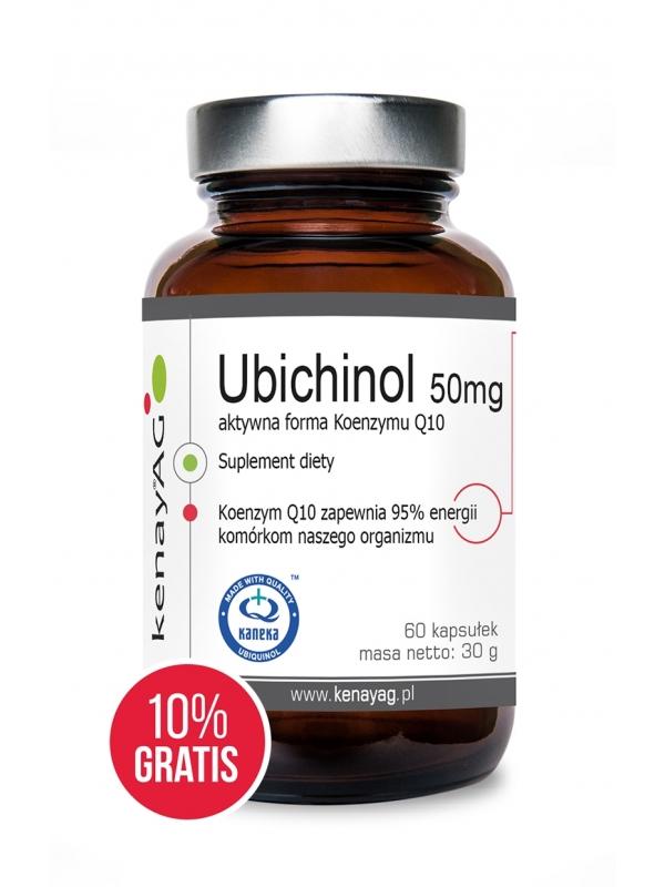 UBIQUINOL - Coenzym Q10 50 mg (60 capsules) – dietary supplement