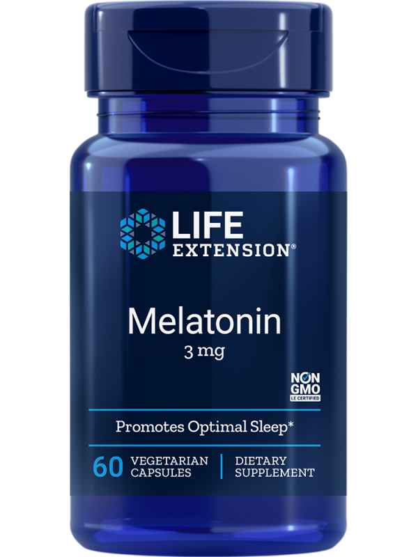 Melatonina 3 mg LifeExtension