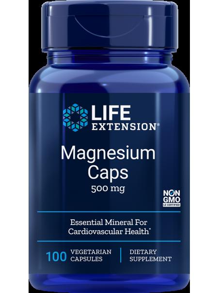 MAGNEZ - Magnesium LifeExtension (100 kapsułek) - suplement diety