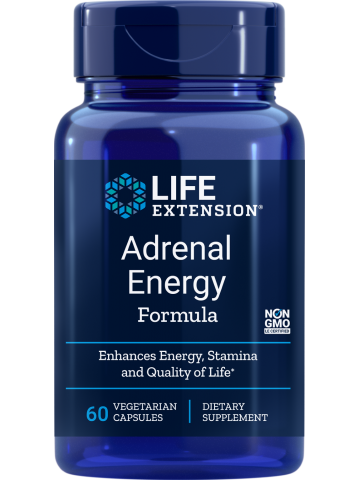 ADRENAL ENERGY FORMULA LifeExtension (60 kapsułek) - suplement diety
