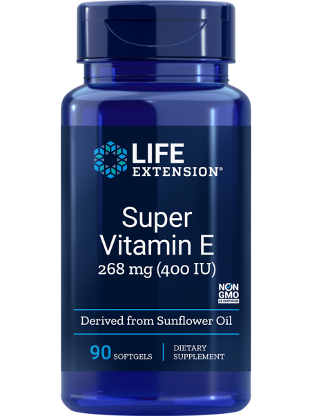 Naturalna Witamina E LifeExtension (90 kapsułek) - suplement diety
