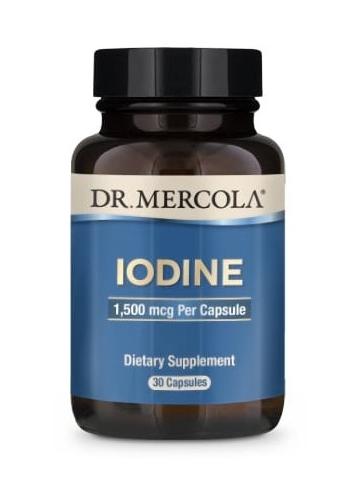 Jod (dr Mercola) (30 kapsułek) - suplement diety
