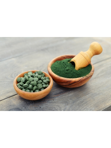 Chlorella Yaeyama (120 tabletek) - suplement diety