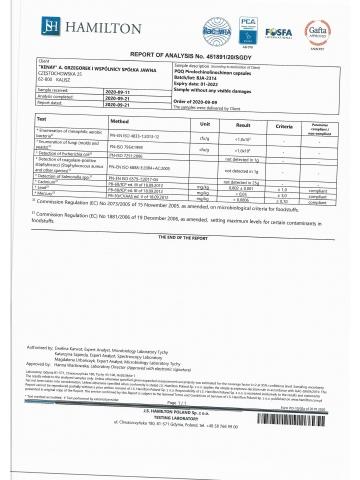 PQQ Pirolochinolinochinon (30 kapsułek) - suplement diety