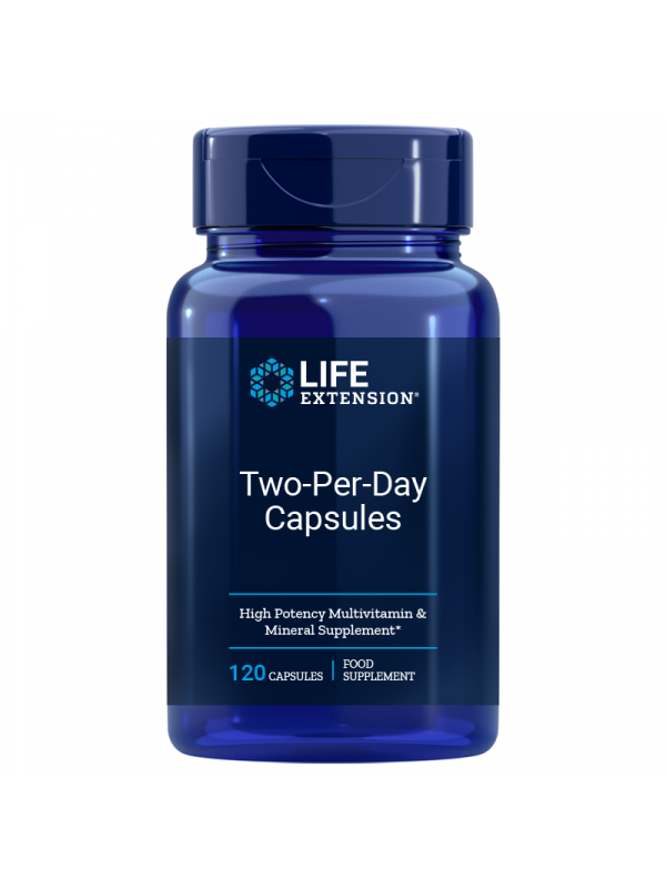 Two-Per-Day LifeExtension (120 kapsułek) - suplement diety