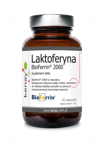 Laktoferyna BioFerrin® 2000 (30 kapsułek) - suplement diety