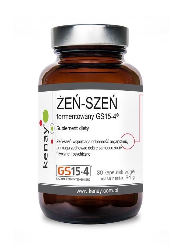 Żeńszeń fermentowany GS15-4® (30 kapsułek) - suplement diety