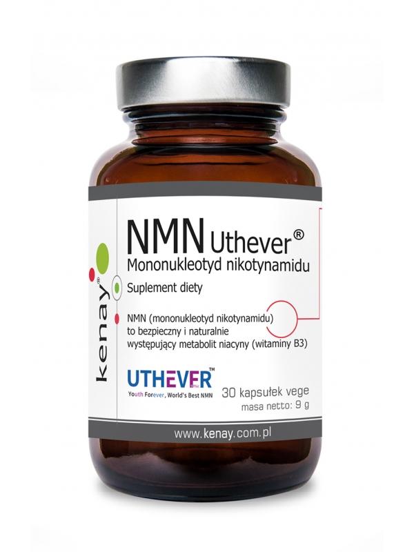 NMN Uthever® Mononukleotyd nikotynamidu (30 kapsułek vege) - suplement diety
