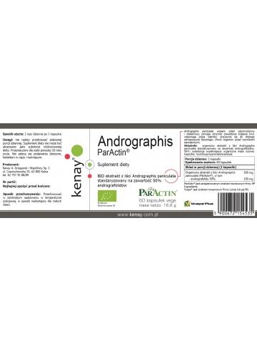 Andrographis  ParActin® (60 kapsułek vege) - suplement diety