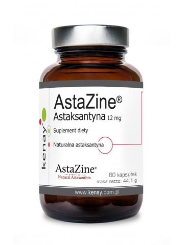 AstaZine™  Astaksantyna 12 mg (60 kapsułek) - suplement diety